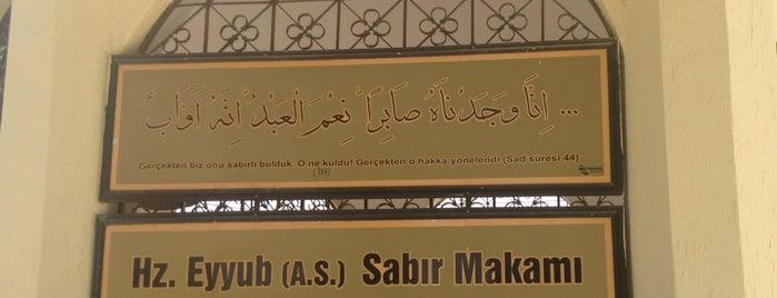 Hz. Eyyüb Sabır Makamı is one of ŞanlıUrfa Gezi.