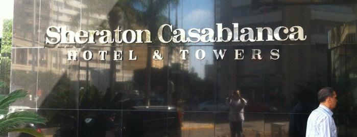 Sheraton Casablanca Hotel & Towers is one of Orte, die Yunus gefallen.