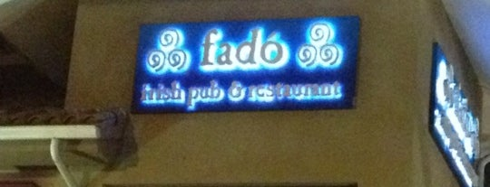 Fado Irish Pub is one of Official U.S. Soccer Bars.