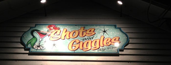 Shots And Giggles is one of Key west.