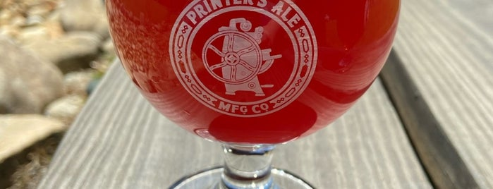 Printer's Ale Manufacturing Co. is one of Georgia Breweries.