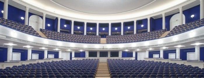 Музыкальный театр им. К. С. Станиславского и В. И. Немировича-Данченко is one of Darren: сохраненные места.