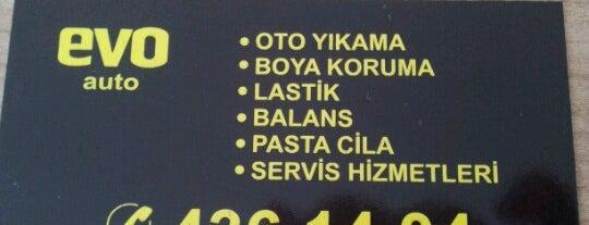 Evo oto yikama is one of Seckin : понравившиеся места.