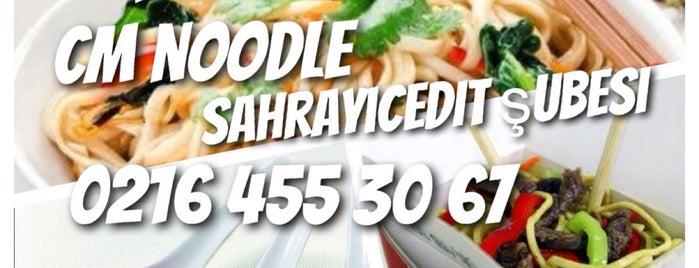 CM Noodle is one of İstanbul Etiket Bonus Mekanları Anadolu Yakası.