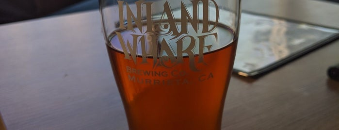 Inland Wharf Brewing is one of California Breweries 5.