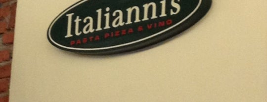 Italianni's Pizza, Pasta & Vino is one of Orte, die Maria gefallen.