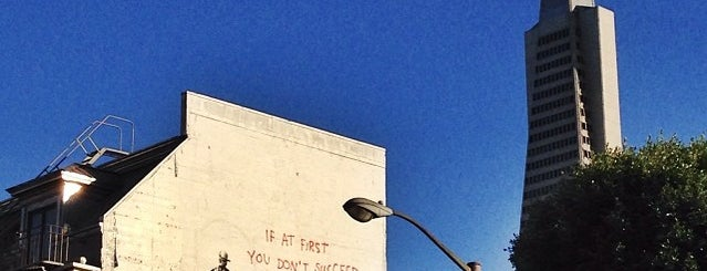 Banksy Mural: Airstrike is one of San Francisco Dos.