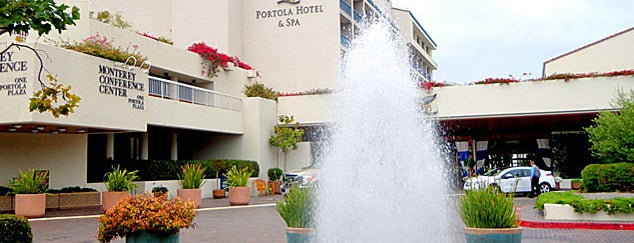 Portola Hotel & Spa at Monterey Bay is one of Front Page Favorites.