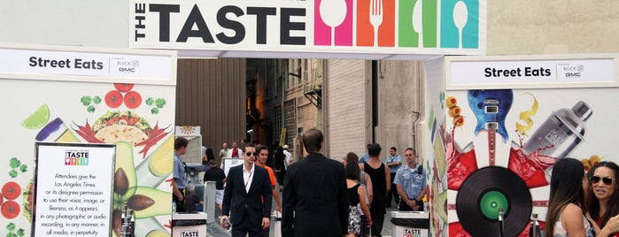 The Taste LA - Hollywood is one of Front Page Favorites.