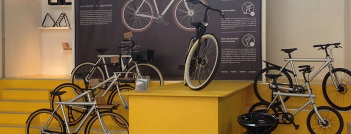VanMoof is one of S Marks The Spots in AMSTERDAM.