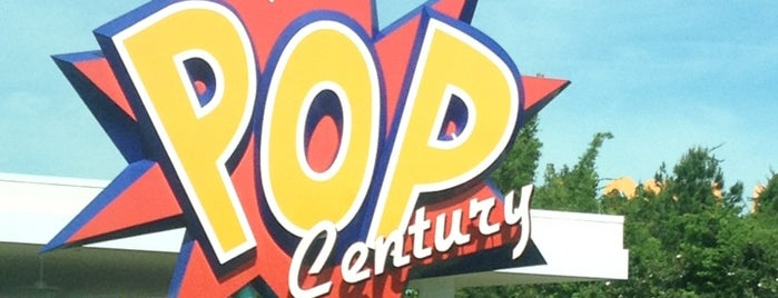 Disney's Pop Century Resort is one of HOTELS.