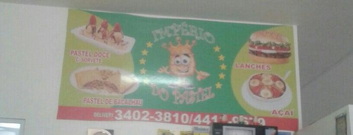 Imperio do Pastel is one of Locais curtidos por Alex.