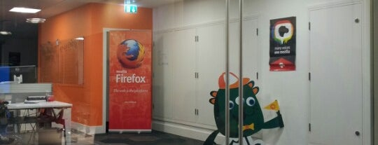 Mozilla is one of Places To Work.
