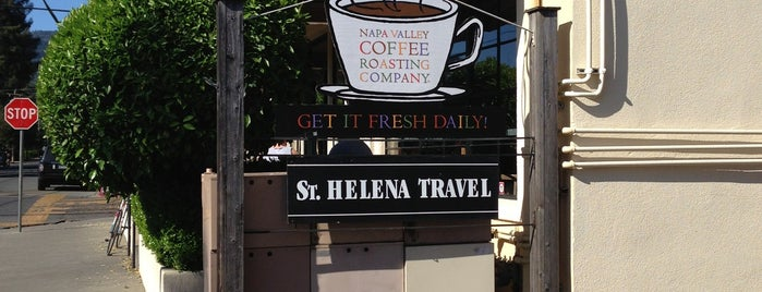 Napa Valley Coffee Roasting Co. is one of Saint helena to do.