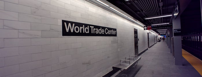 MTA Subway - Cortlandt St WTC (1) is one of Posti che sono piaciuti a Pete.