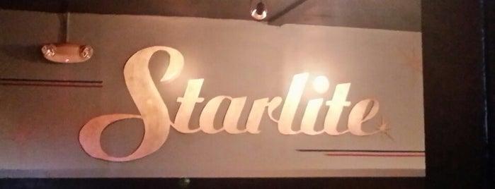 Trina's Starlite Lounge is one of Boozin'.