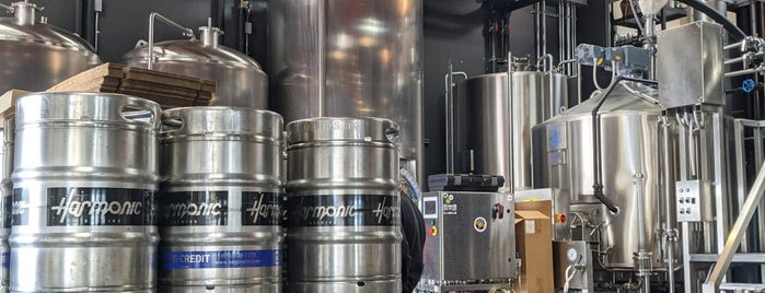 Harmonic Brewing is one of Beer 47 Craft Beer Guide to SF.