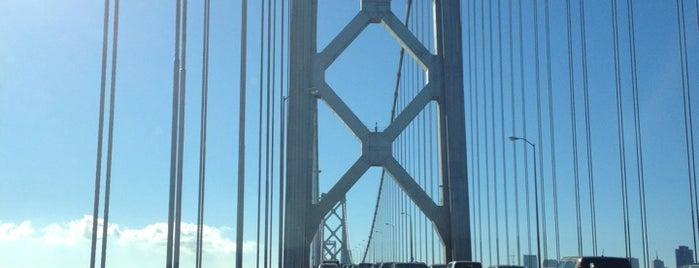 San Francisco-Oakland Bay Bridge is one of Bay Area.
