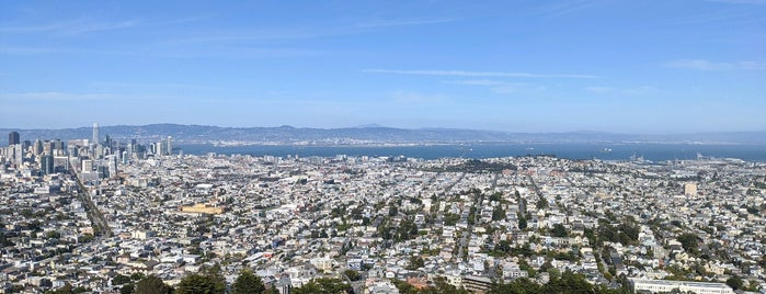 Twin Peaks Summit (South/Noe Peak) is one of Tempat yang Disukai Ty.