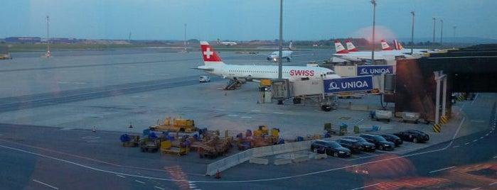 Austrian Senator Lounge Schengen @ Gates F is one of Travel.