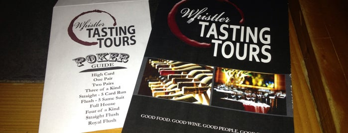 Whistler Tasting Tours is one of Top 5 Off Mountain Adventures.