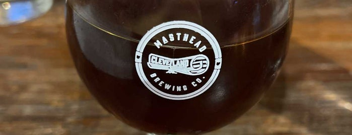Masthead Brewing Co is one of Cleveland Favorites.