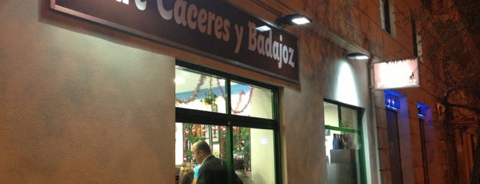 Entre Cáceres y Badajoz is one of Tapas por Madrid - FC.