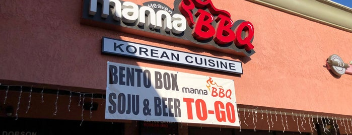 Manna BBQ is one of need to try.
