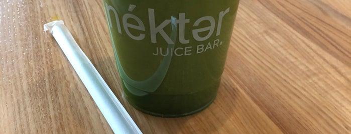 Nekter Juice Bar is one of Chuck : понравившиеся места.