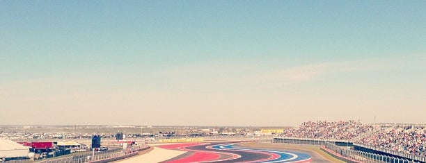 Circuit of The Americas is one of 2014 FIA Formula-1 World Championship Circuits.