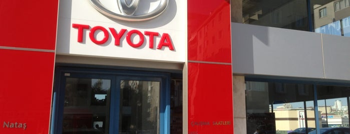 Toyota Plaza Nataş is one of Locais curtidos por Ünsal.
