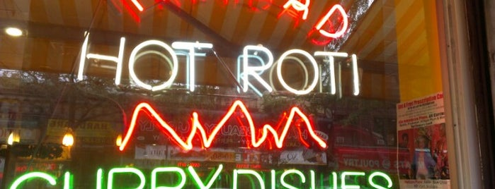 Ali's Roti Shop is one of Restaurant nyc 2.