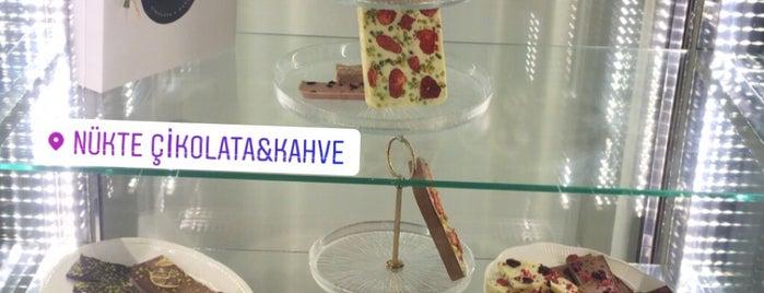 Nükte Çikolata & Kahve is one of สถานที่ที่บันทึกไว้ของ Ozgur.