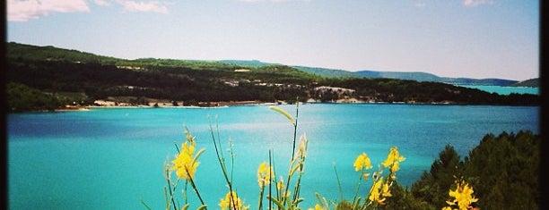 Lac de Sainte-Croix is one of France.