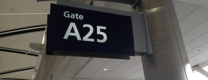 Gate A25 is one of สถานที่ที่ Lindsay ถูกใจ.