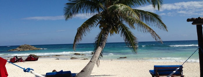 Tulum Beach is one of Tulum To-Do.