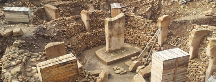 Göbeklitepe is one of Antik Kentler - Ören Yerleri.
