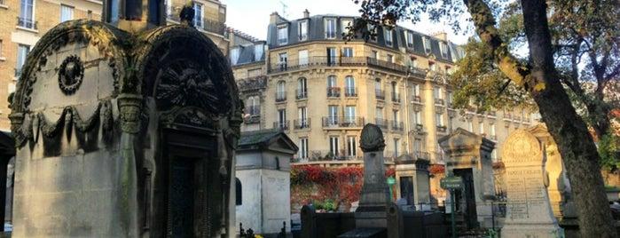 Cimetière de Montmartre is one of Paris.