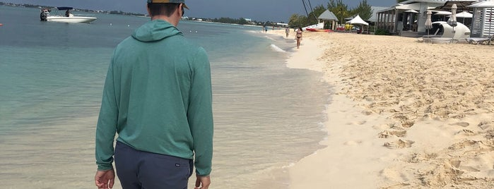 Seven Mile Beach is one of Grand Cayman.