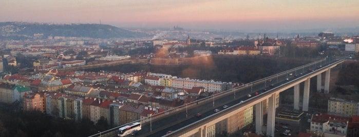 Corinthia Hotel Prague is one of Nejlepší výhledy v Praze.