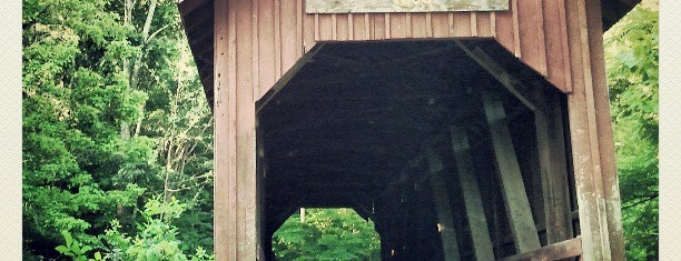 Bean Blossom Covered Bridge is one of Fall 2021 to Do.