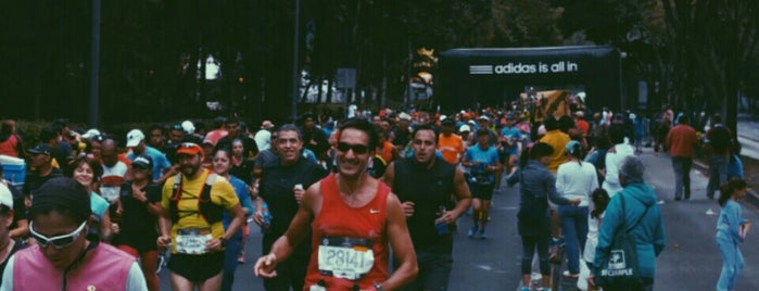 Medio Maraton CDMX is one of Lugares favoritos de Marco.