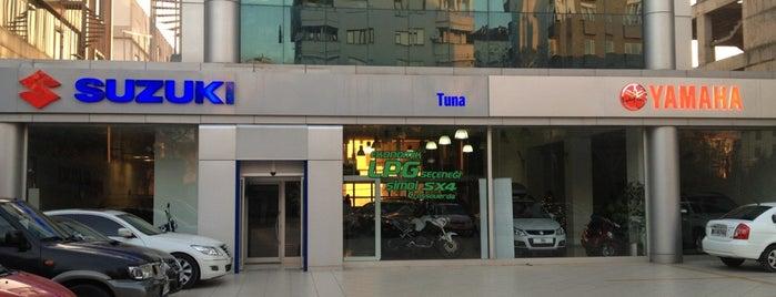 Tuna Plaza Yamaha & Suzuki is one of Lieux qui ont plu à Semih Emre.