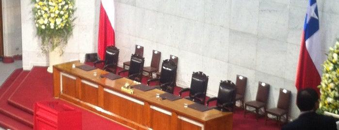 Congreso Nacional de Chile is one of Valparaiso / 2013.