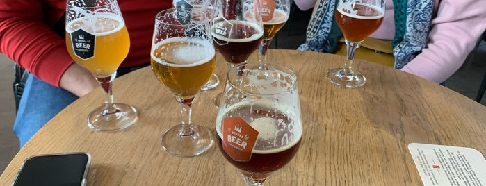 Bruges Beer Museum is one of France/Belgium/Amsterdam.