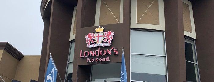 London's Pub & Grill is one of Lugares guardados de Justin.