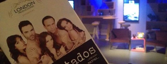 Teatro Virginia Fabregas is one of Gab'ın Beğendiği Mekanlar.