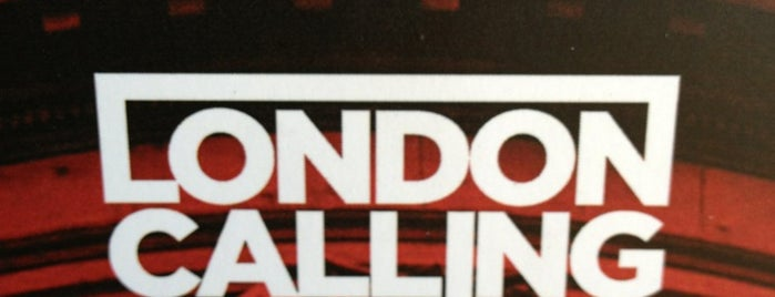 London Calling is one of Restaurantes & Bares.