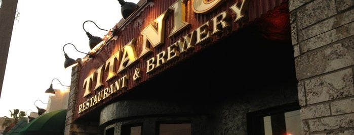 Titanic Restaurant & Brewery is one of dinner recommendations.