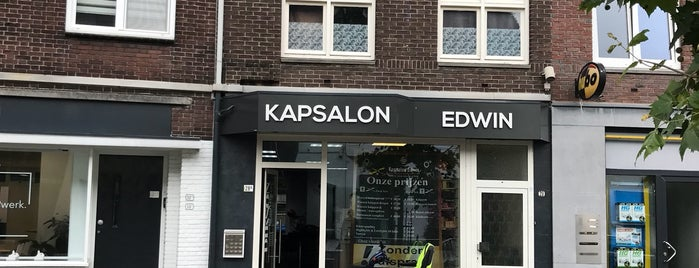 Kapsalon Edwin is one of Orte, die Shakira gefallen.